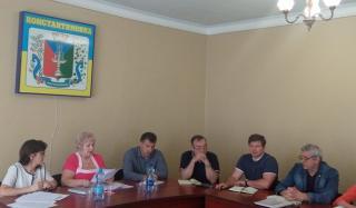 В Константиновке прошло совещание по вопросу создания индустриального парка