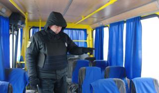 В Константиновке полицейские проверили более 400 автобусов