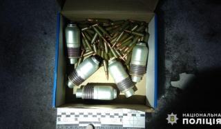 Во время отработки Константиновки обнаружили схрон боеприпасов