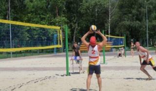 Константиновцы третьи на чемпионате области по пляжному волейболу