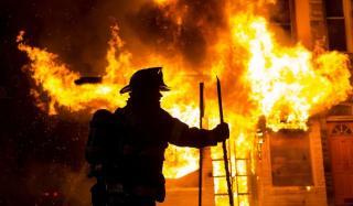 Пожар в Константиновке