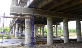 Реконструкция путепровода в Константиновке