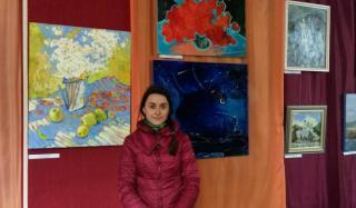В Константиновке проходит выставка местной художницы Ольги Сабадин