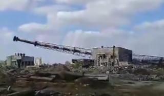 В Константиновке взорвали самую высокую трубу города