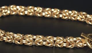Цепи из золота