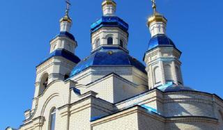 Сретенский храм в Константиновке