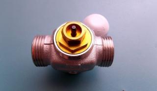трёхходовые клапаны позволяют существенно экономить теплоноситель