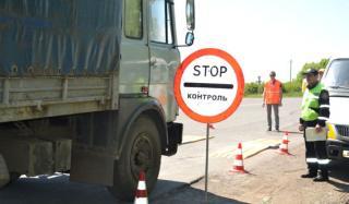 В Константиновке штрафуют грузовики за перегруз