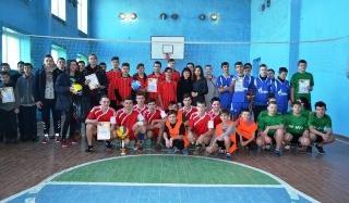 В Константиновском районе состоялся первый этап чемпионата Украины по волейболу